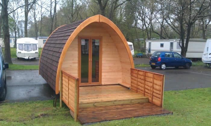 Lower Lacon Caravan Park Wem Shropshire